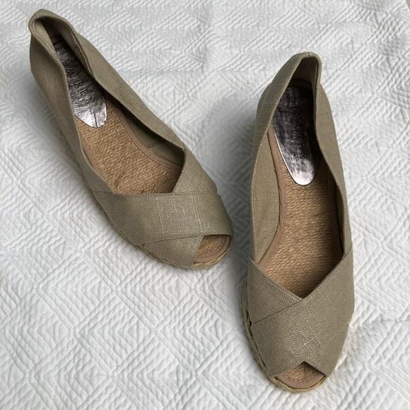 38da28d15fbf Lauren Ralph Lauren Shoes - Ralph Lauren Cecilia Wedge Espadrille Sandal Tan